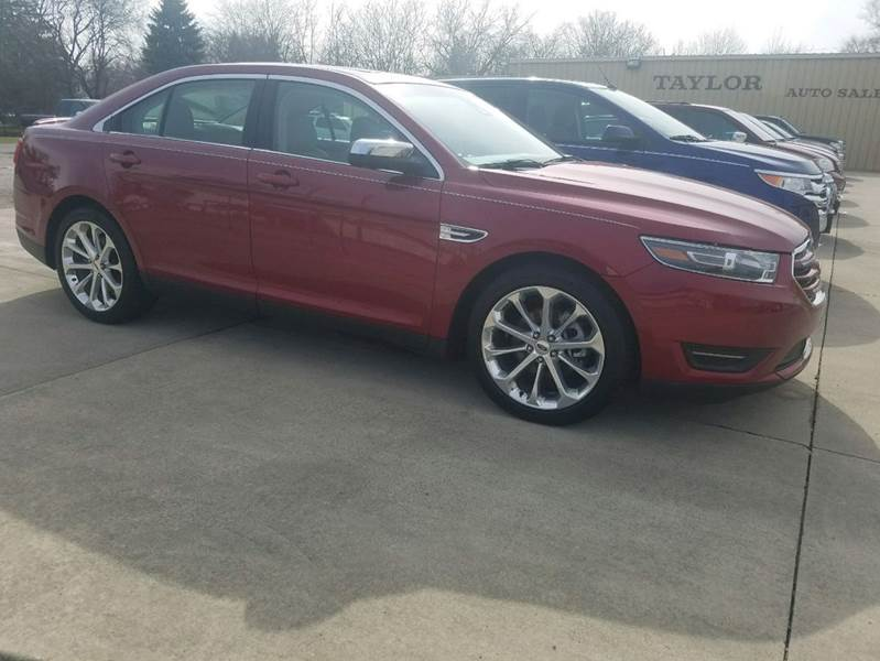 Ford Taurus Awd Limited Dr Sedan Van Wert Oh