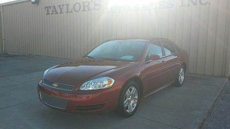 2015 Chevrolet Impala Limited for sale in Van Wert, OH