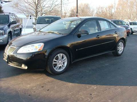 2006 Pontiac G6 for sale in Union City, OH