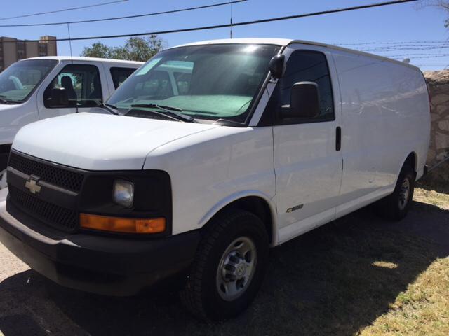 2005 Chevrolet Express Cargo 2500 3dr Van In El Paso Tx