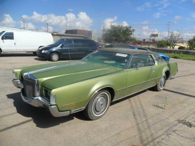 1972 Lincoln Continental In El Paso Tx Rainbow Motors