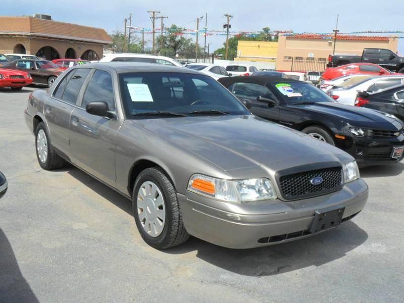 2009 Ford Crown Victoria Police Interceptor In El Paso Tx