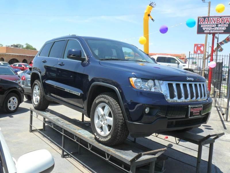2012 Jeep Grand Cherokee Laredo 4x4 4dr Suv El Paso Tx