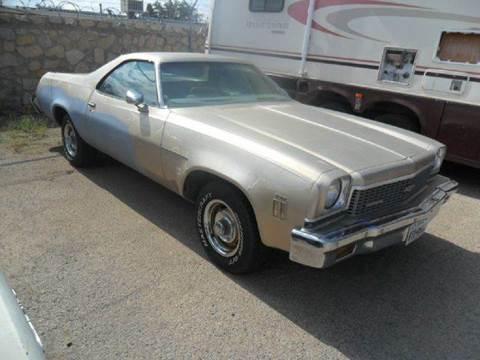 1973 chevrolet el camino for sale for Rainbow motors el paso tx