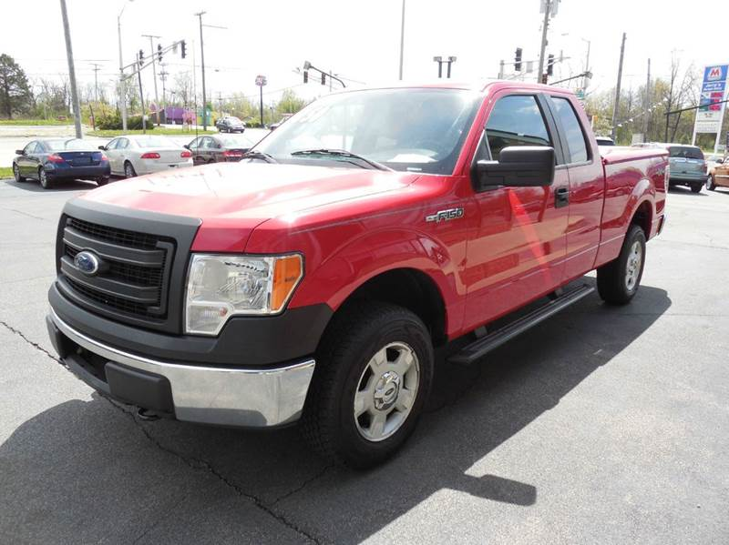 2014 Ford F-150 4x4 XL 4dr SuperCab Styleside 6.5 ft. SB - Fort Wayne IN