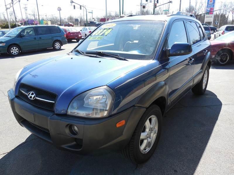 2005 Hyundai Tucson 4dr GLS 4WD SUV - Fort Wayne IN