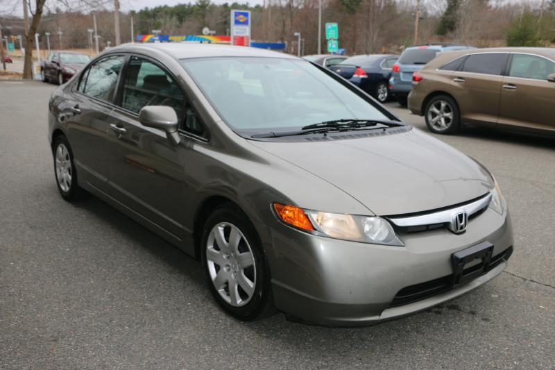 2008 Honda Civic LX 4dr Sedan 5M - Middleboro MA