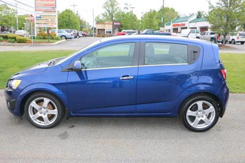 2012 Chevrolet Sonic for sale in Middleboro, MA