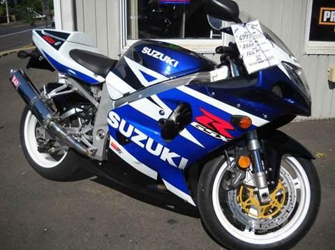 2003 Suzuki GSXR 750 K5