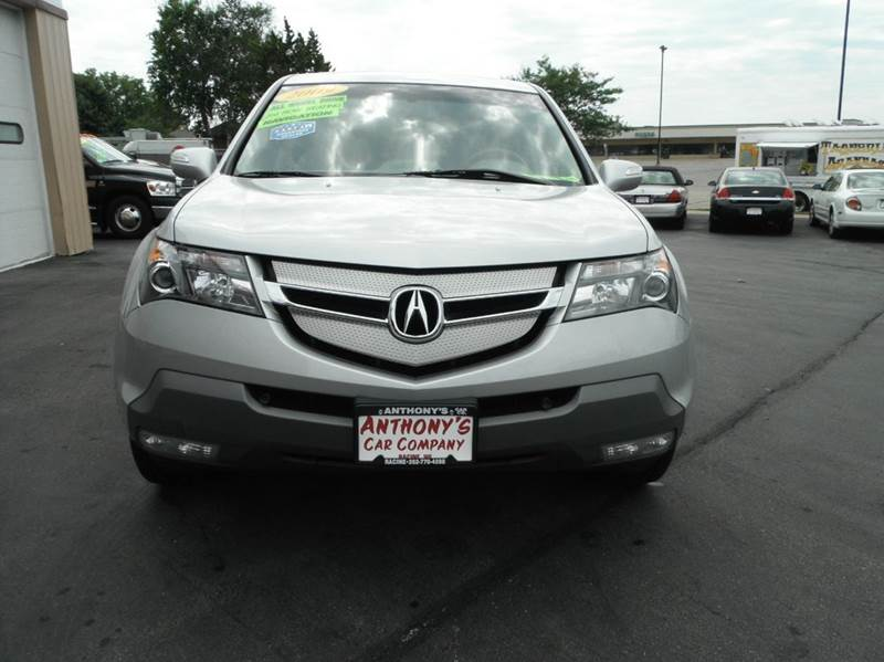 2009 Acura Mdx Sh Awd W Tech 4dr Suv W Technology Package