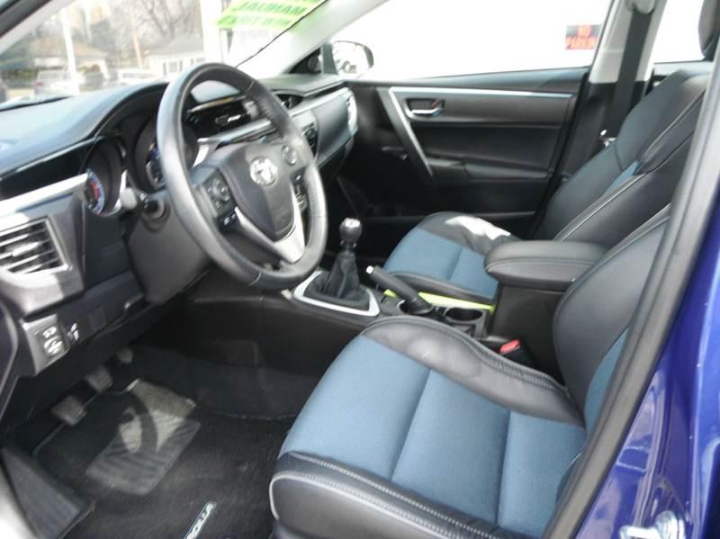 2014 Toyota Corolla S Plus 4dr Sedan 6M - Racine WI