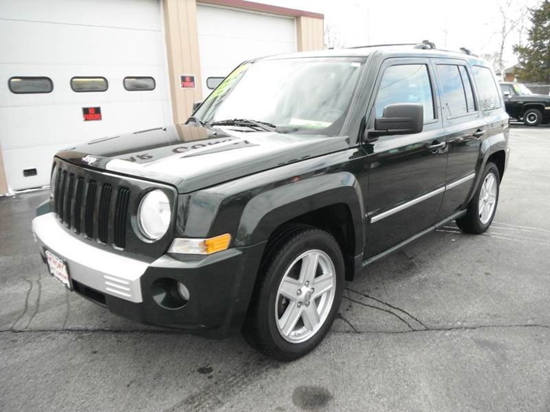 2010 jeep patriot 4x4 limited 4dr suv in racine wi. Black Bedroom Furniture Sets. Home Design Ideas
