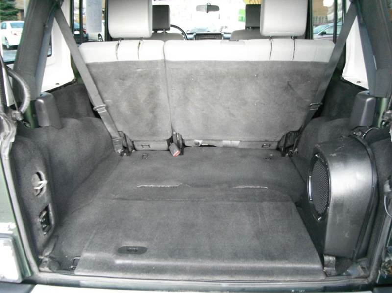 2008 Jeep Wrangler Unlimited 4x4 Sahara 4dr SUV - Racine WI