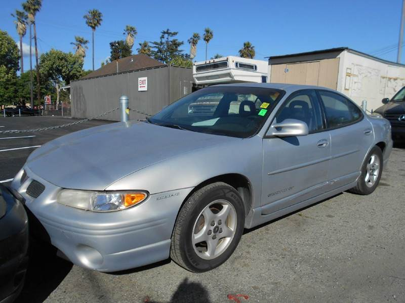1999 PONTIAC GRAND PRIX GT 4DR SEDAN silver abs - 4-wheel cassette center console cruise contr