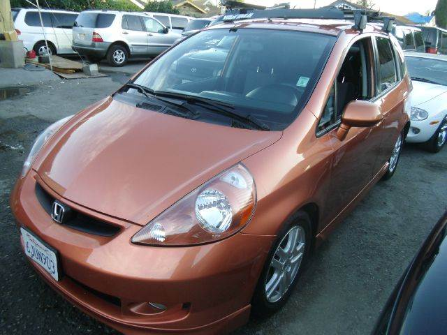 2008 HONDA FIT SPORT HATCHBACK orange abs - 4-wheel air filtration airbag deactivation - occupa