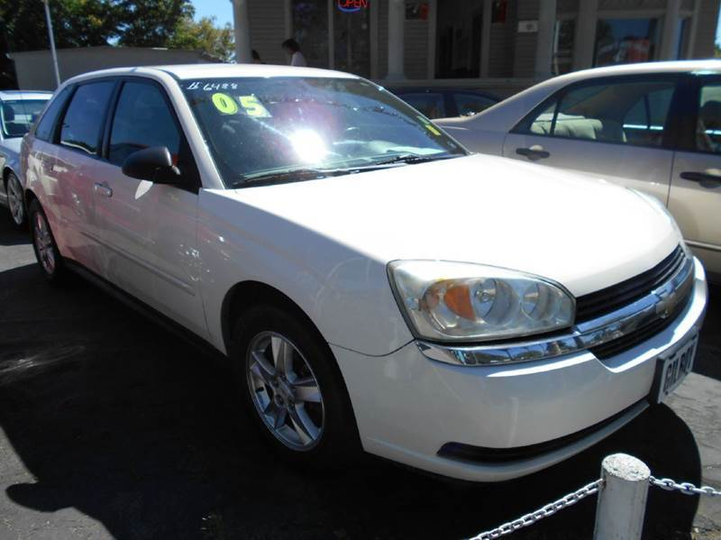 2005 CHEVROLET MALIBU MAXX LS 4DR HATCHBACK white abs - 4-wheel adjustable pedals - power anti-