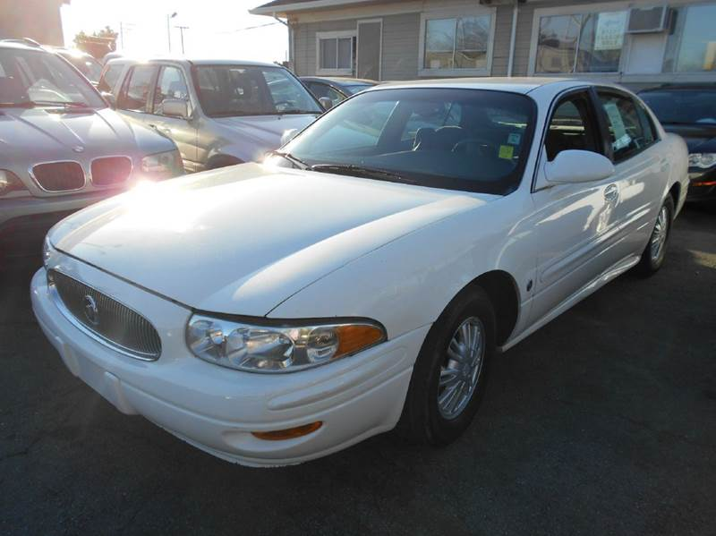 2005 BUICK LESABRE CUSTOM 4DR SEDAN white abs - 4-wheel air suspension - rear airbag deactivati