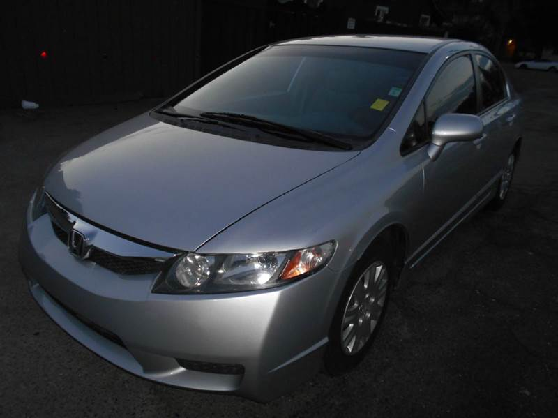 2011 HONDA CIVIC GX 4DR SEDAN CNG silver abs - 4-wheel active head restraints - dual front air