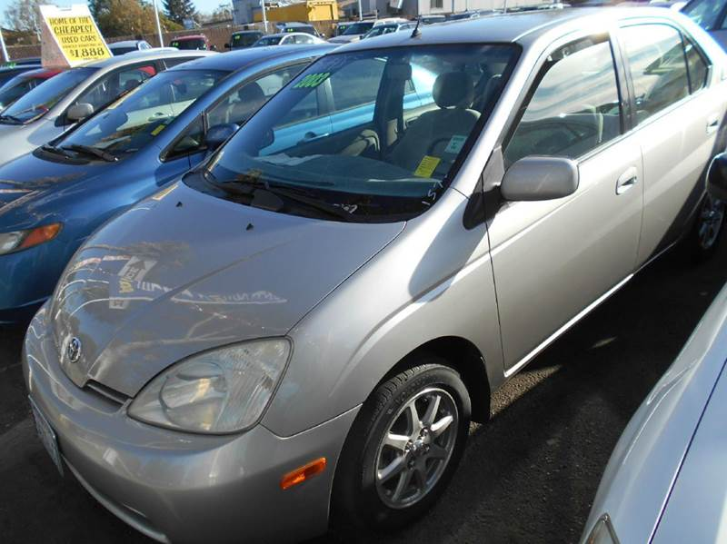 2003 TOYOTA PRIUS BASE 4DR SEDAN silver abs - 4-wheel anti-theft system - alarm cassette cente