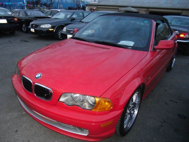 2001 BMW 3 SERIES 325I red 2 doorair conditioningalloy wheelsamfm radioantilock brakesautoma