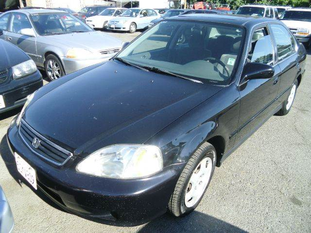2000 HONDA CIVIC LX black 4 doorair conditioningamfm radioautomatic transmissioncd playercru
