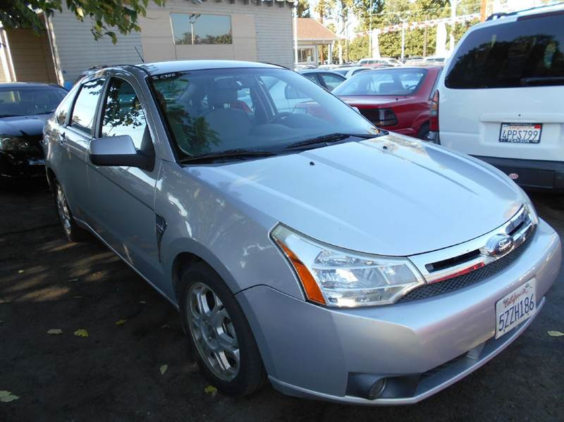 2008 FORD FOCUS SE 4DR SEDAN silver 2-stage unlocking airbag deactivation - occupant sensing pas