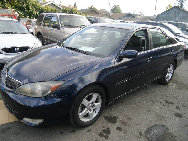 2002 TOYOTA CAMRY XLE V6 blue abs brakesair conditioningalloy wheelsamfm radioanti-brake syst