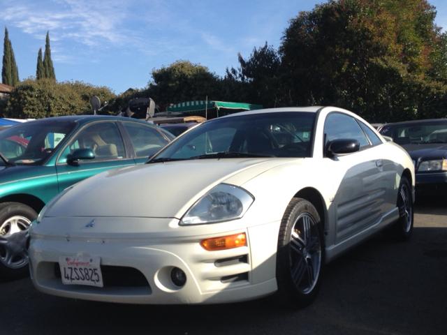 2003 MITSUBISHI ECLIPSE GTS white 0 miles VIN 4A3AC74H63E061295