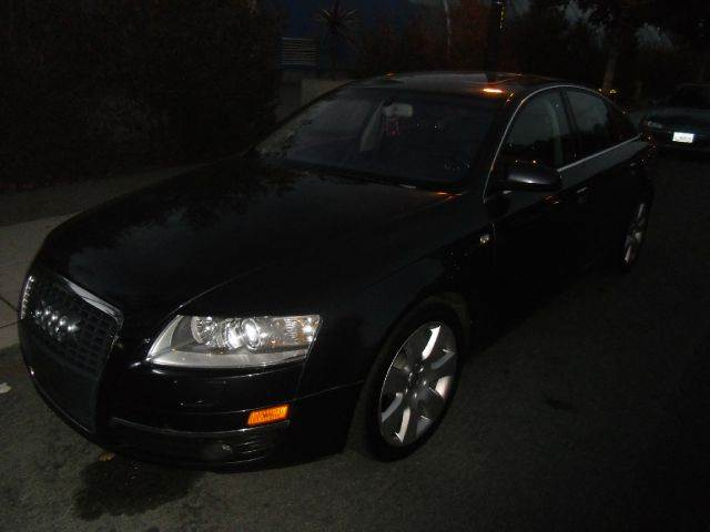 2005 AUDI A6 32 QUATTRO AWD 4DR SEDAN charcoal abs - 4-wheel anti-theft system - alarm cd chang
