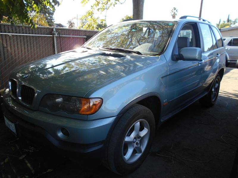 2002 BMW X5 30I AWD 4DR SUV blue abs - 4-wheel anti-theft system - alarm center console clock