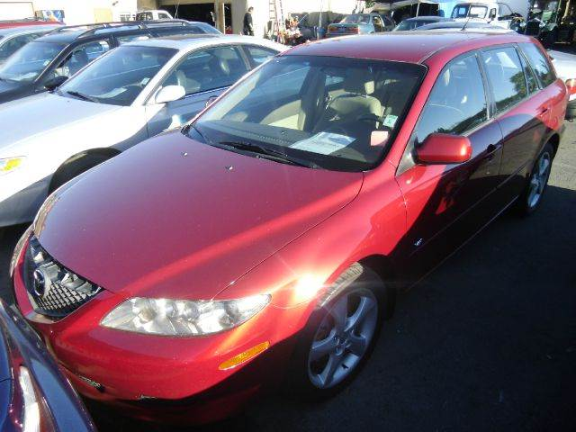 2004 MAZDA 6 S red abs brakesair conditioningalloy wheelsamfm radioanti-brake system 4-wheel