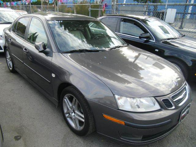 2007 SAAB 9-3 20T 4DR SEDAN gray 2-stage unlocking - remote abs - 4-wheel active head restrain