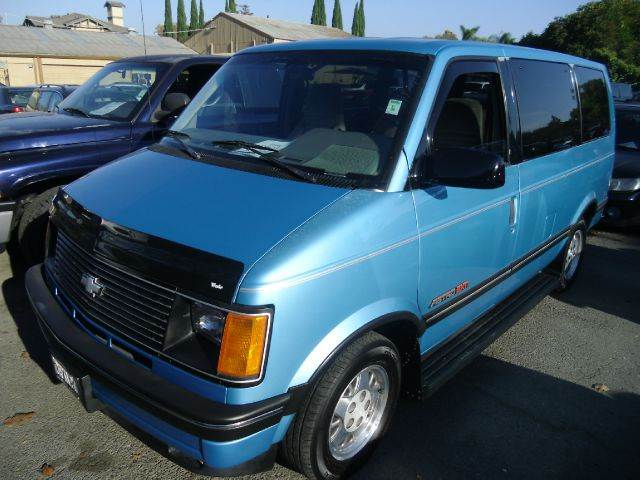 1994 CHEVROLET ASTRO EXTENDED blue abs brakesanti-brake system 4-wheel absbody style extended
