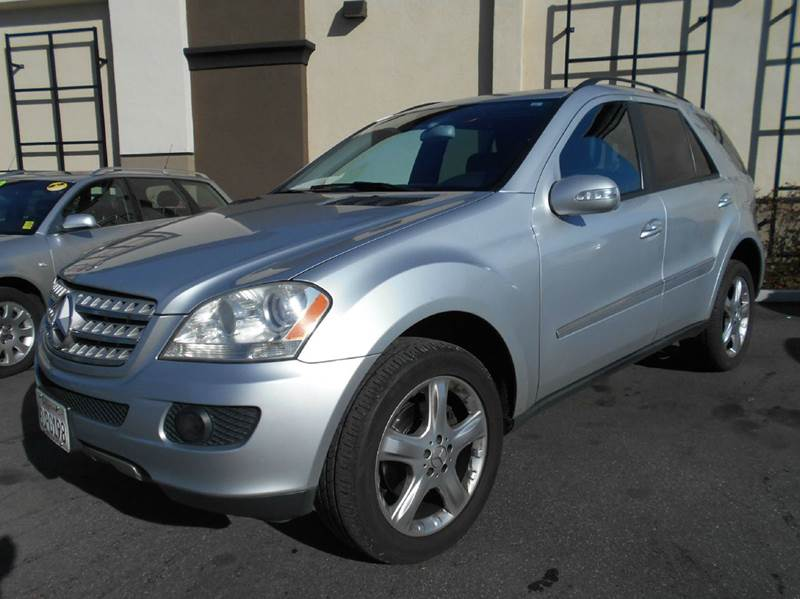 2006 MERCEDES-BENZ M-CLASS ML350 AWD 4MATIC 4DR SUV silver abs - 4-wheel air filtration airbag