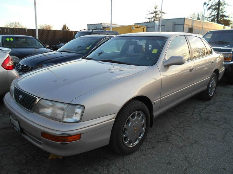 1997 TOYOTA AVALON XLS 4DR SEDAN silver abs - 4-wheel antenna type - power anti-theft system -