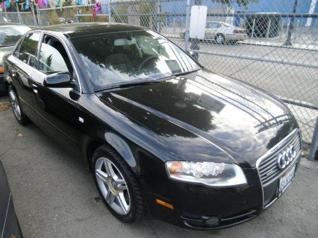 2006 AUDI A4 20T QUATTRO AWD 4DR SEDAN 2L I black abs - 4-wheel active head restraint adjusta