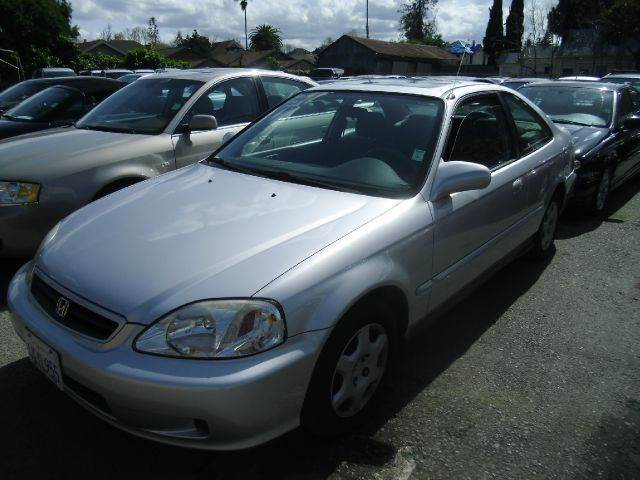 2000 HONDA CIVIC EX 2DR COUPE silver center console cruise control exterior mirrors - power fr