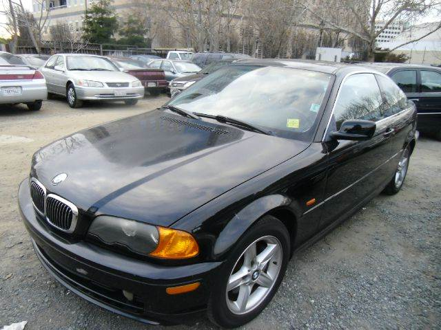 2000 BMW 3 SERIES 328CI 2DR COUPE black abs - 4-wheel cassette cruise control daytime running l