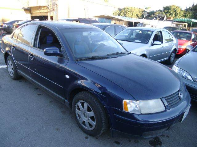2000 VOLKSWAGEN PASSAT GLS V6 blue 4 doorair conditioningantilock brakesautomatic transmission
