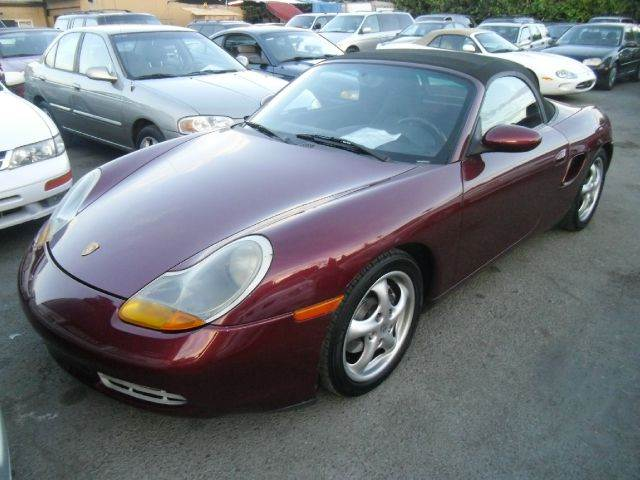2000 PORSCHE BOXSTER 2DR STD CONVERTIBLE maroon abs - 4-wheel anti-theft system - alarm cassette