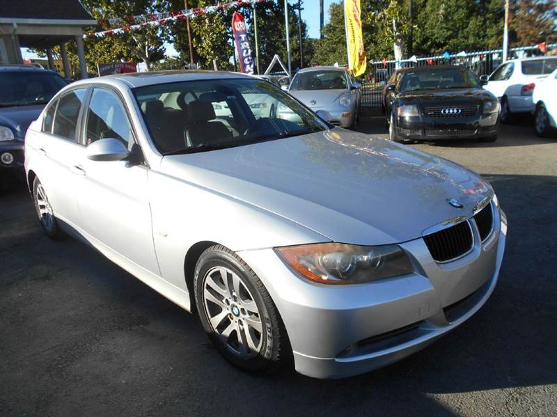 2006 BMW 3 SERIES 325I 4DR SEDAN silver abs - 4-wheel air filtration airbag deactivation - occu