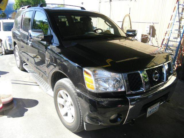 2004 NISSAN ARMADA LE 4WD 4DR SUV black abs - 4-wheel adjustable pedals - power alloy wheels an