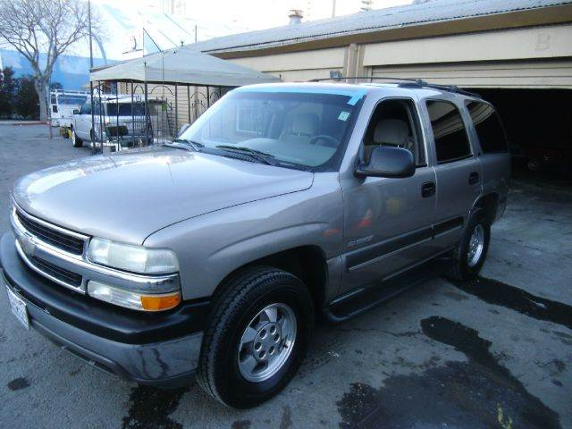 2002 CHEVROLET TAHOE LS 2WD 4DR SUV silver abs - 4-wheel anti-theft system - alarm axle ratio -
