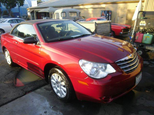 2008 CHRYSLER SEBRING LX CONVERTIBLE red 2-stage unlocking - remote abs - 4-wheel antenna type -