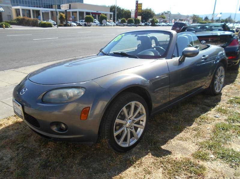 2006 MAZDA MX-5 MIATA SPORT 2DR CONVERTIBLE gray abs - 4-wheel airbag deactivation - occupant se