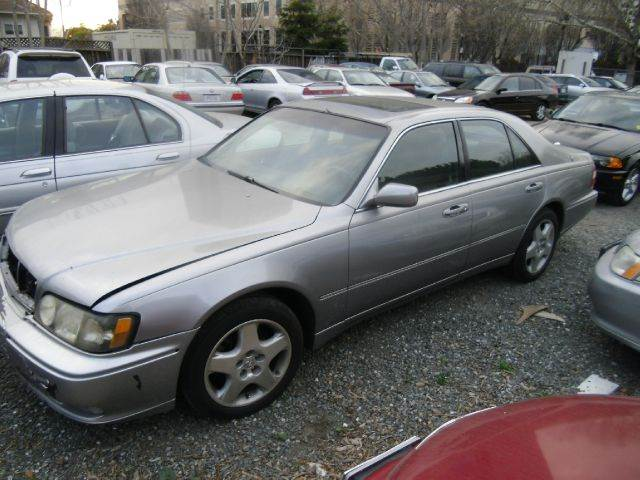 2000 INFINITI Q45 BASE 4DR STD SEDAN silver abs - 4-wheel antenna type - power anti-theft syste