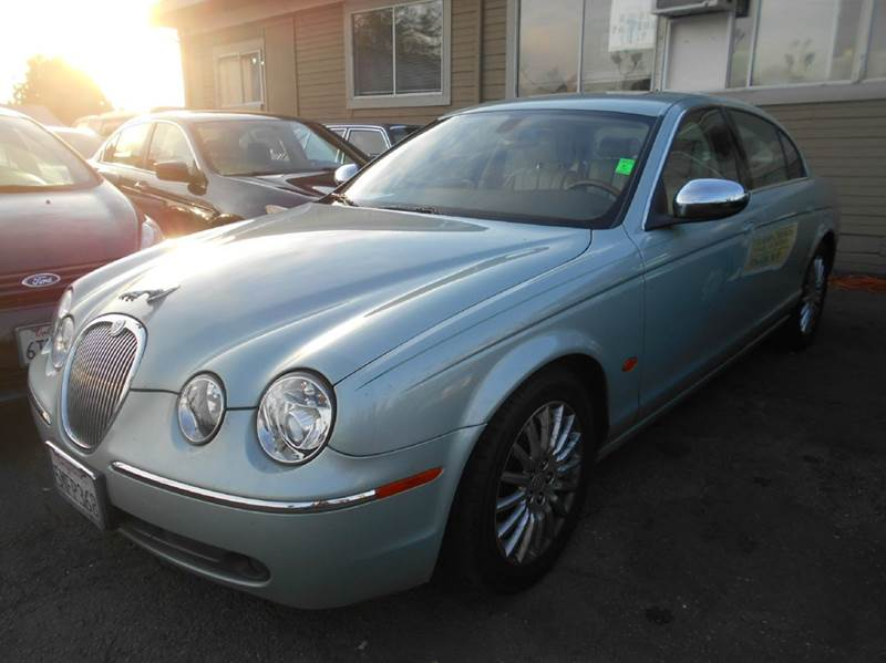 2005 JAGUAR S-TYPE 42 4DR SEDAN green abs - 4-wheel adjustable pedals - power anti-theft syste