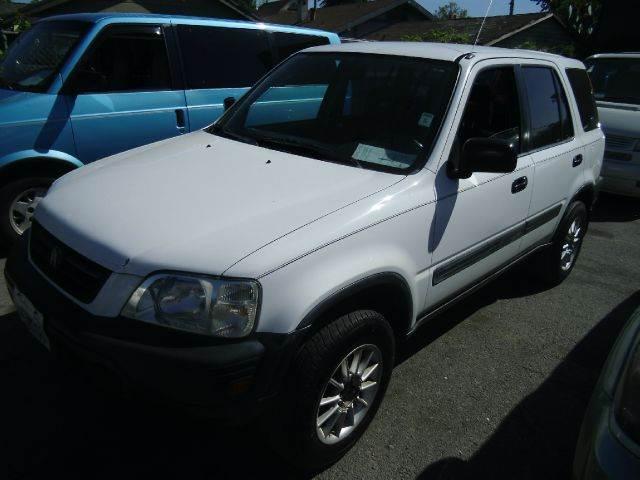 2000 HONDA CR-V LX 2WD white 0 miles VIN JHLRD2841YC006336