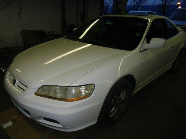 2001 HONDA ACCORD EX V6 V 6 2DR COUPE white abs - 4-wheel anti-theft system - alarm cassette c