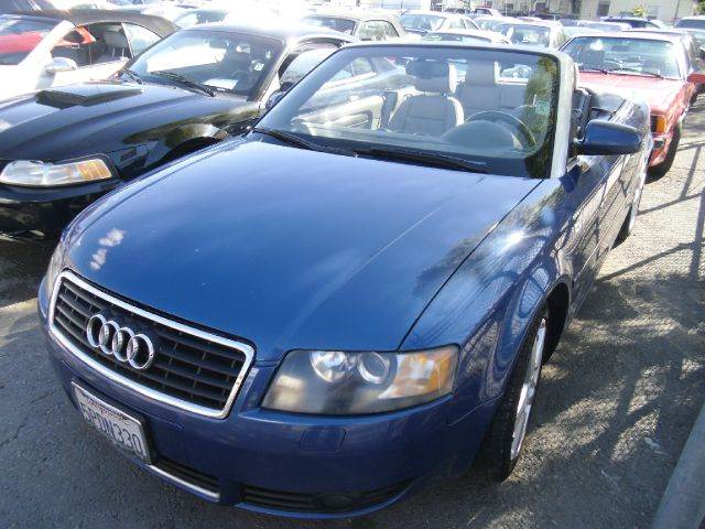 2005 AUDI A4 18T CABRIOLET blue abs brakesair conditioningalloy wheelsamfm radioanti-brake s